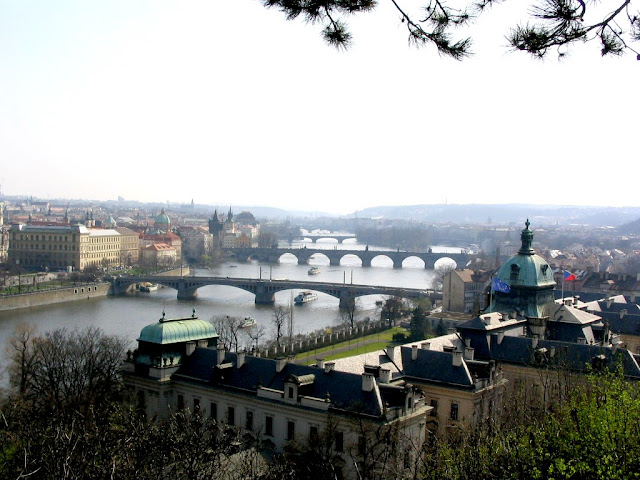 Vltava and its bridges, Prague