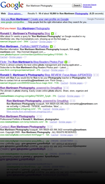 Ron Martinsen Photography on Google.com