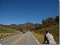 Approaching Rush Fork