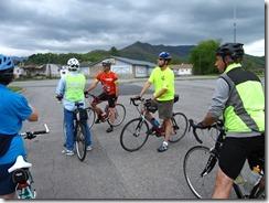 Ride participants
