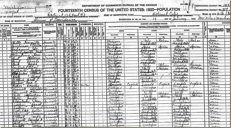 Family Daniels Census 1920 Raymond Frank cropped