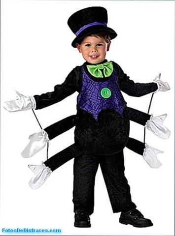 Disfraz-infantil-animales-araña