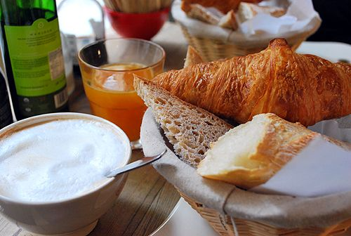 Breakfast at Le Pan Quotidien