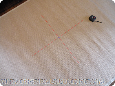 DIY Painted Sisal Rug 005 copy