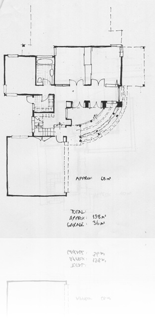 Lower Floor Plan, Peary Road