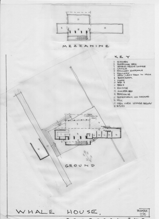 Papamoa Beach House Floor Plans