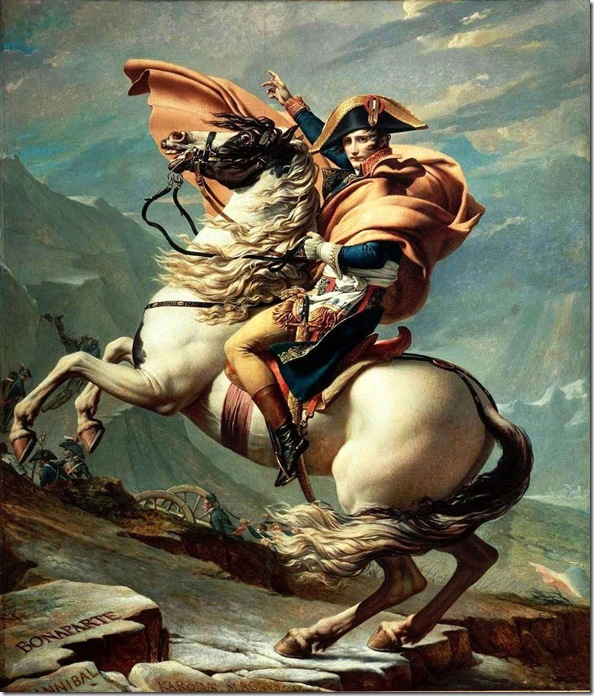 David - Napoleon Crossing the Alps