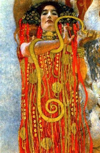 """Not PC: """"Hygeia"""" – Gustav Klimt"""