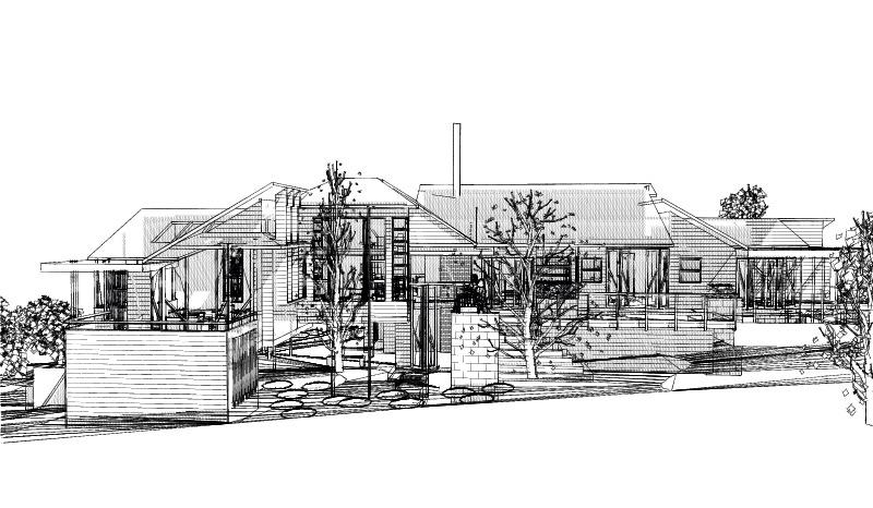 Sketch-ElevationN-26Glenfern-3pm