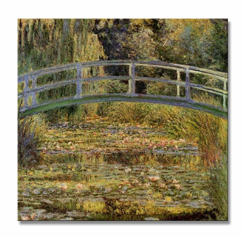 Claude-Monet-Water-Lily-Pond-II