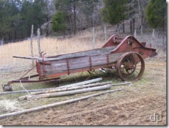 Old Oliver manure spreader