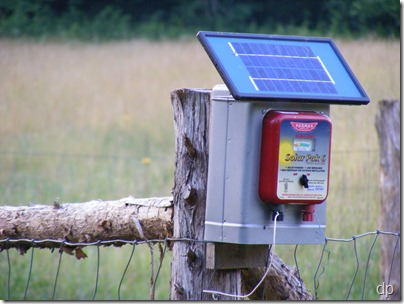 solar fence charger