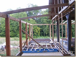 rafters near posts
