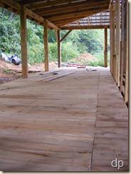 back porch floor