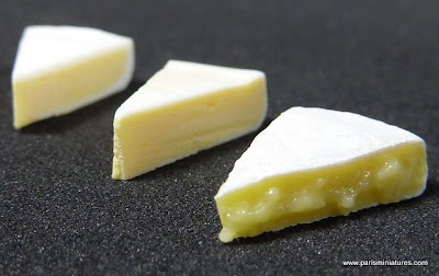 Paris Miniatures - Brie, French Cheese