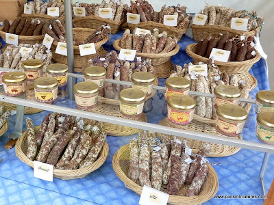 Paris Miniatures - French Market selling saucisson and pâtés - Emmaflam and Miniman