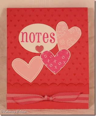 hearts matchbook notes
