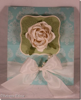 rose tent easel folded