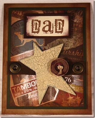 vintage dad card
