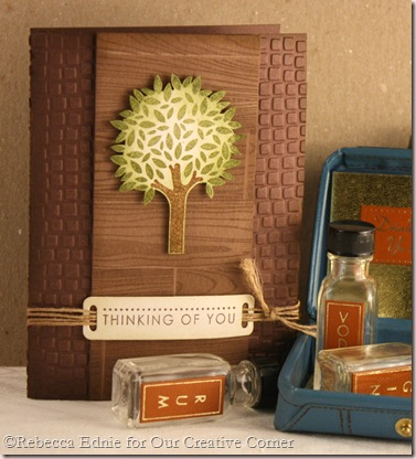 CAS tree masculine card
