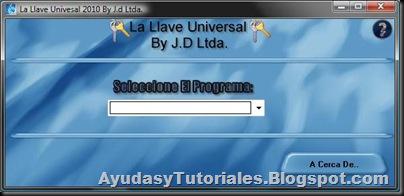 La LLave Universal - AyudasyTutoriales