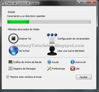 Vidalia - Panel de Control - AyudasyTutoriales