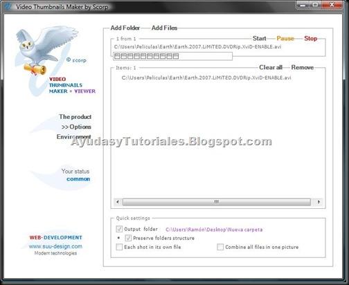 Thumbnails Maker - AyudasyTutoriales
