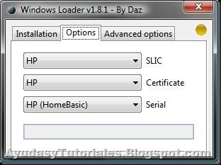 Windows Loader v1.8.1 - AyudasyTutoriales