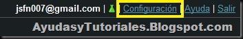 Configuracion Gmail - AyudasyTutoriales