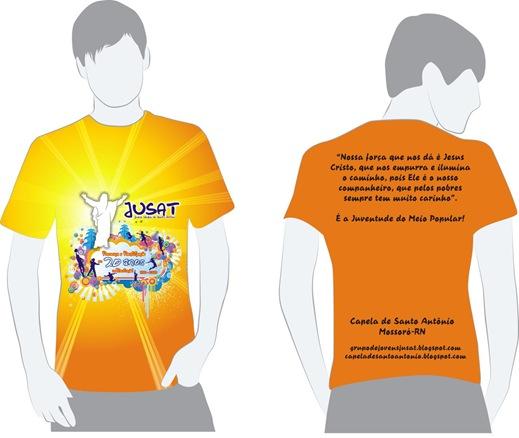Camisa Oficial dos 20 Anos do JUSAT 2010
