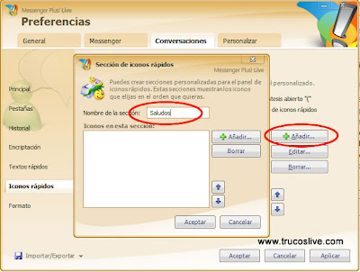 iconos windows live messenger: