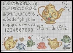 Cozinha chá