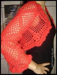 bolero vermelho Regina