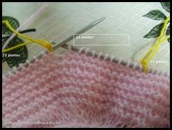 trico sapatinho