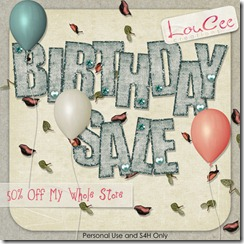 lcc-LeChic-birthday sale