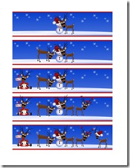 Reindeer Number Feed