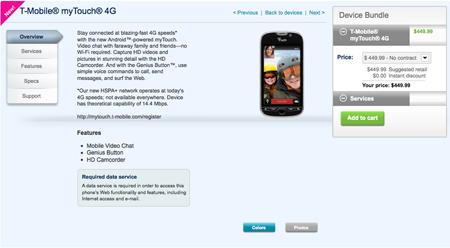 Buy myTouch 4G