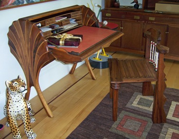 Art Carpenter Writing Desk