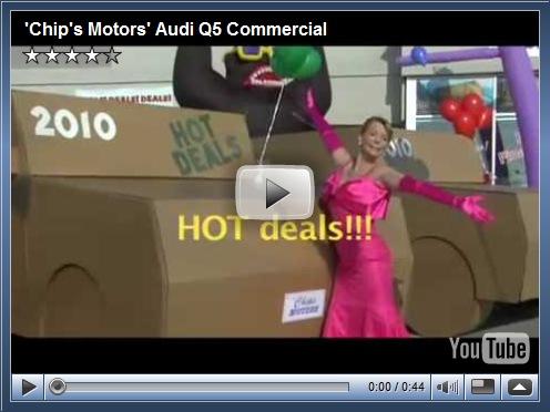 Comercial do Audi Q5 nos EUA ataca a concorrência