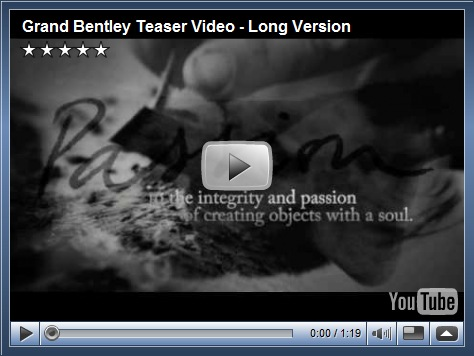 "Video/Teaser do ""New Grand Bentley"""