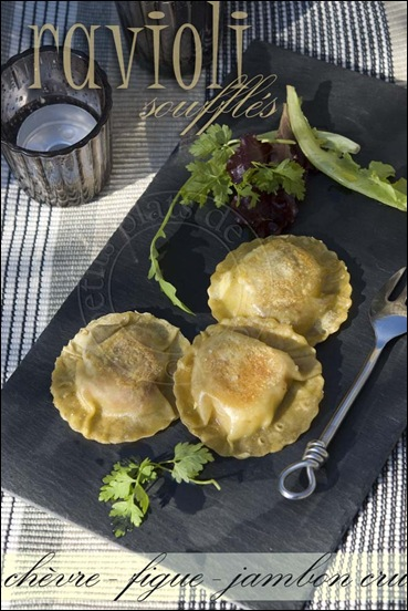 raviolis chevre figue1