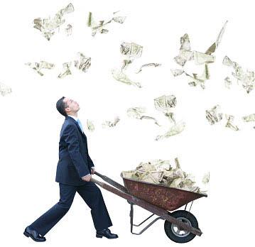 llueve dinero, ganar dinero