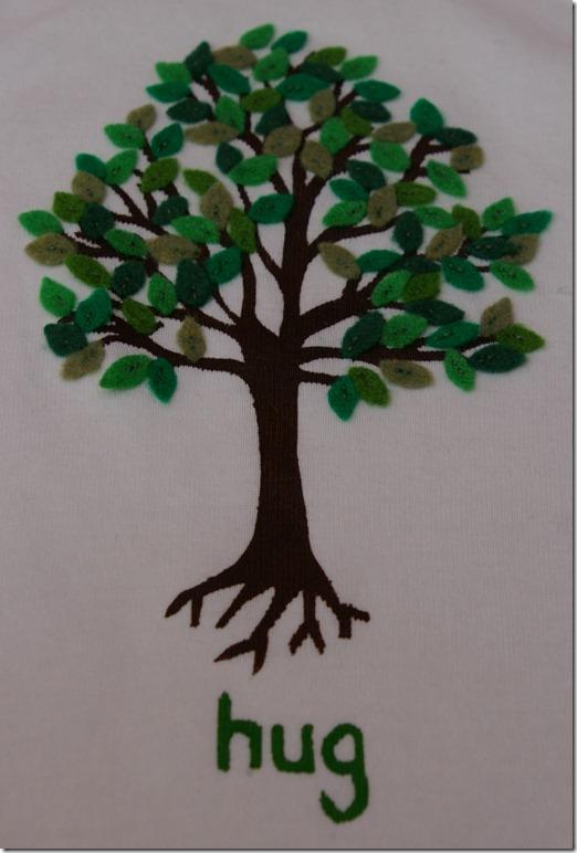 Tree hug shirt