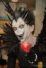 Death Note's Ryuk at Ozinefest