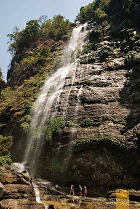 The 200-foot High Big Falls of Sagada