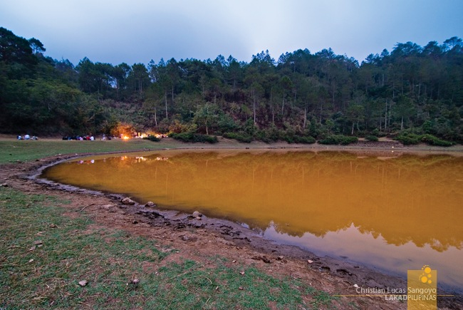 Dusk at Sagada's Lake Danum