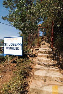 The Entrance to St. Joseph's Resthouse