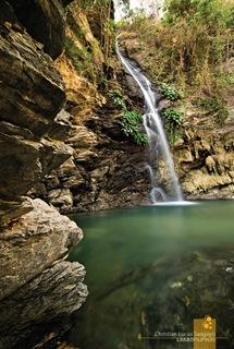 Abra de Ilog's Agbalala Waterfalls