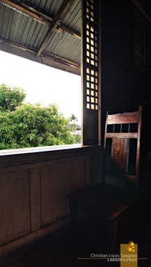 Huge Capiz Windows at the Zoleta Ancestral House in Abra de Ilog