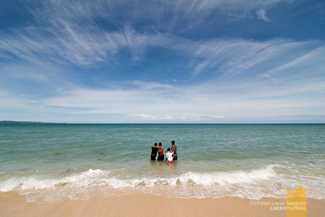 Blue Skies at Last at Saud's Pagudpud Beach